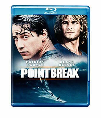 Point Break Blu-Ray - Single Disc Edition - New Unopened - Keanu Reeves
