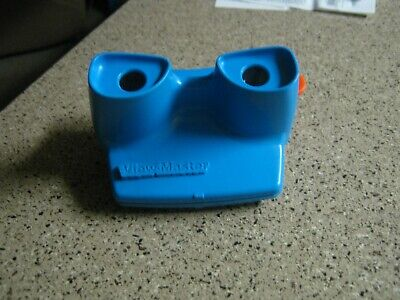 Vintage Blue Viewmaster 3D View-Master Viewer Toy 1998 Fisher Price  Clean cond!