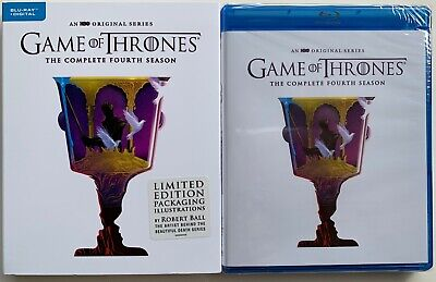 New Game Of Thrones Fourth Season Blu Ray Limited Edition Packaging Robert Ball