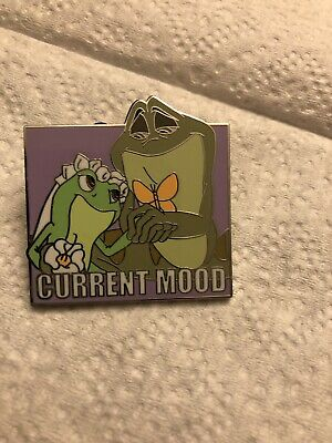 Current Mood Mystery Collection Box Pin Set 2019 Disney Parks Tiana & Naveen