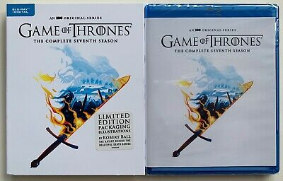New Game Of Thrones Seventh Season Blu Ray Limited Edition Packaging Robert Ball