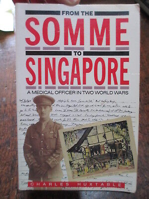 Somme to Singapore Medical Officer WW1 WW2 POW Australian  book