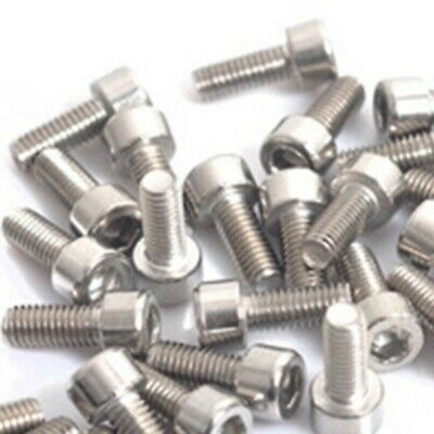 40PCS Stainless Steel Cycling Bicycle Bike Water Bottle Cage Bolt Screws Parts