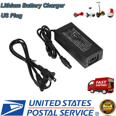 42V Power Adapter Lithium Battery Charger for 2 Wheels Electric Balance Scooter