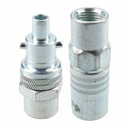 "PCL Instant Air Coupler 1/4"" BSP Female Thread & Fitting Swivel Male Adaptor"