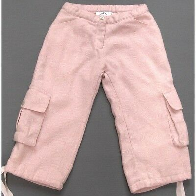 Dior Girls Wool Mix Cropped Trousers