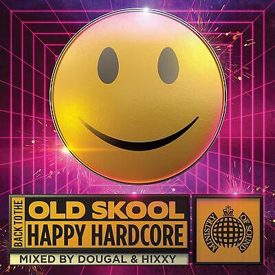 BACK TO THE OLD SKOOL : HAPPY HARDCORE (Various) 3 CD Set (2019)