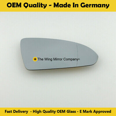 Right Driver Side WIDE ANGLE WING MIRROR GLASS For Nissan Primera P12 2002-2008