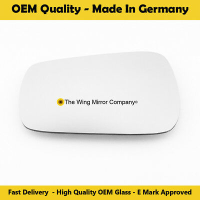 VAUXHALL AGILA WING MIRROR GLASS SILVER,HEATED /& BASE LEFT SIDE,2000-/>2008