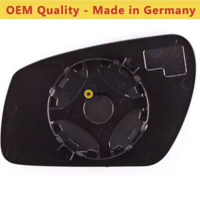 Mondeo 2004-08 Wing Mirror Glass Right Side /& Backing Plate Ford Focus// Fiesta