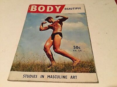 Vintage Acme Body Beautiful Magazine Studies In Masculine Art Gay Interest