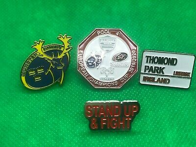 Munster Rugby Pin Badge Pack