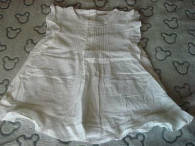 Girls Bnwt Next White Tunic Top Aged 10 Years