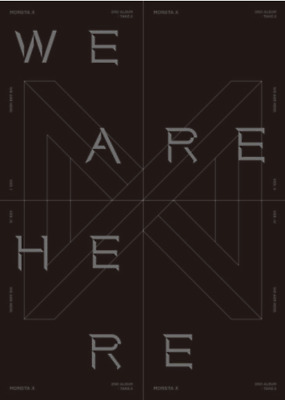 Monsta X Take.2 We Are Here The 2nd Album + Poster