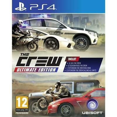 The Crew Ultimate Edition - PS4 neuf sous blister IMPORT