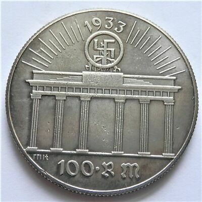 Free Coins! 1933 Hitler / Germany 100 Reichsmark Exonumia Coin #1