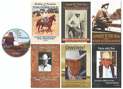 Tom Dorrance Complete Horse Training DVD Collection - 7 Titles (9 Discs)