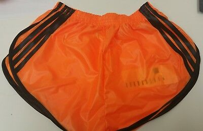 Schier Ripstop Nylon Sprinter SHORTS - 4XL, Orange-Schwarz