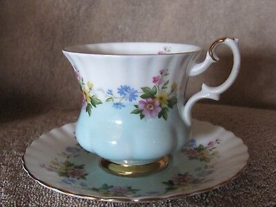 Royal Albert England Floral Teacup and Saucer set
