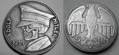 1935 Hitler Germany Exonumia Coin #30 Free Coins