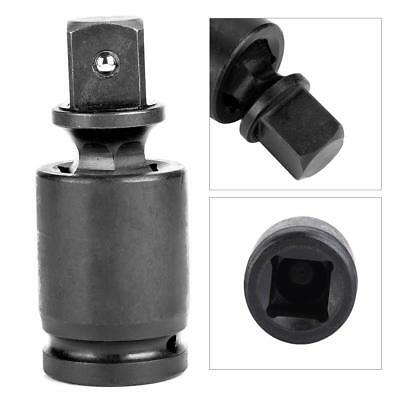 Black Practical Drive Universal Joint Swivel Adapter Air Impact Wobble Socket