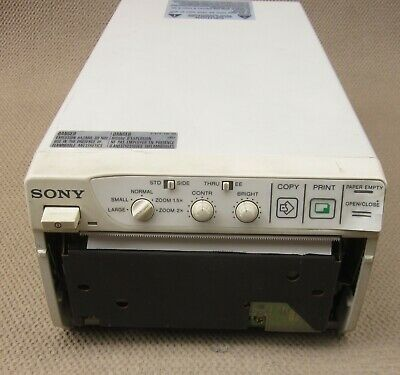 Pre-Owned Sony UP-890MD Video Graphic Black and White Ultrasound Printer