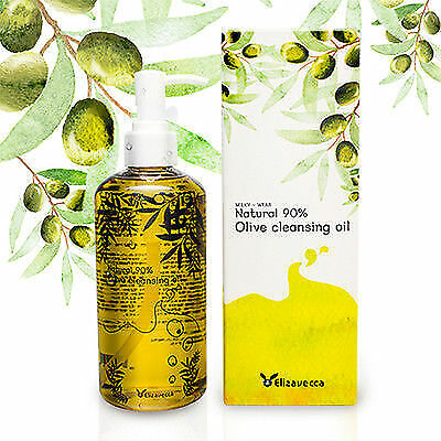 [Elizavecca] Natural 90% Olive Cleansing Oil 300ml