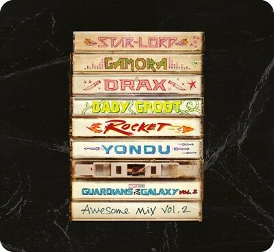 Guardians of The Galaxy: Vol.2 Soundtrack - Limited Edition CD Steelbook