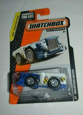 2015 Matchbox MOUNTAIN MOVER☆Blue//White;MINOR MM03☆CONSTRUCTION☆Loose