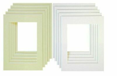 Bevel Cut Mounts For Picture Frames Inserts Various Sizes Photo Frames Mounts