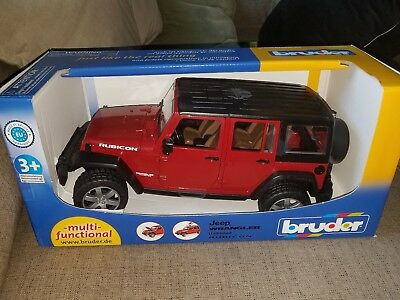 JEEP WRANGLER UNLIMITED RUBICON BRUDER D81775 GIODICART