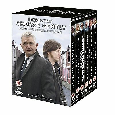 Inspector George Gently Series 1-6 Seasons Complete Dvd Box Set Brand New Sealed