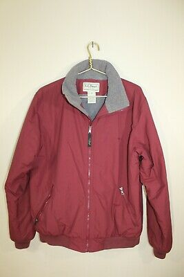 Women's L.L.Bean Size M~Red~Thinsulate~Insulated~Warm~Winter~Outdoor~Coat/Jacket