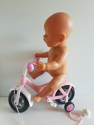BABY BORN GOES CYCLING - BIKE (doll not included) Pull-Along Toy, Genuine ZAPF