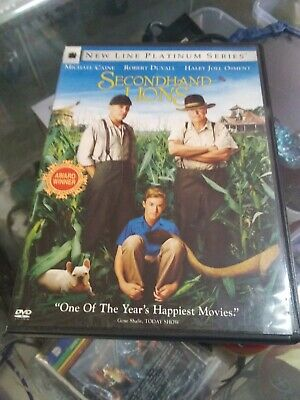 Secondhand Lions movie (DVD 2003)