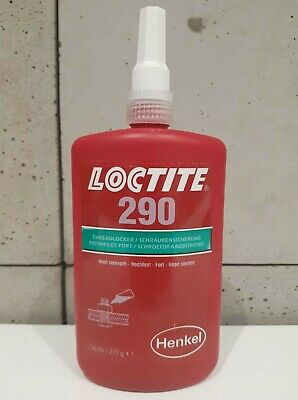 Genuine LOCTITE 290 high-strength threadlocker, low viscosity 250ml
