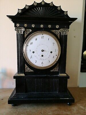 Beautiful Austrian Vienna bracket clock grand sonnerie Wiener Uhr biedermeier