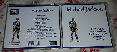 Michael Jackson - CD Rare tracks, demo versions, inedit songs and unreleased 3