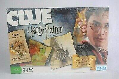 Clue Harry Potter Edition Family Board Game Parker Brothers Hasbro 2008 Sealed