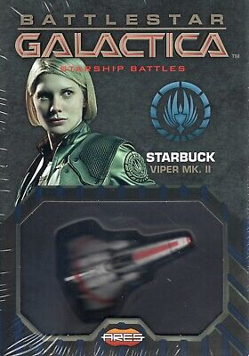 Battlestar Galactica Starship Battles Starbucks Viper New /& Sealed