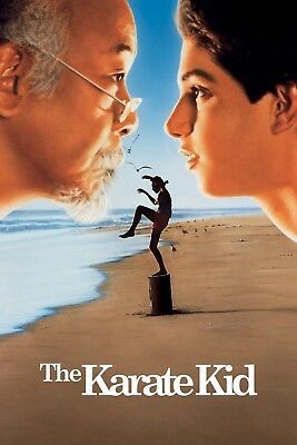 "THE KARATE KID 11""x17"" MOVIE POSTER PRINT"