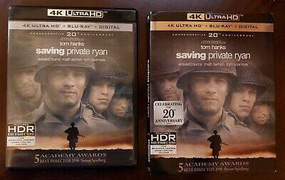 Saving Private Ryan (4K Ultra HD and Blu-ray) Tom Hanks - No Digital