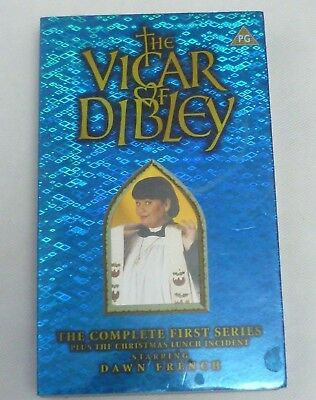 The Vicar Of Dibley - Dawn French Complete Series One Rare Vintage Bbc Vhs Video