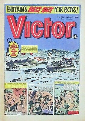 VICTOR - 2nd JUNE 1979 (28 May - 3 June) RARE 40th BIRTHDAY GIFT !! FINE warlord