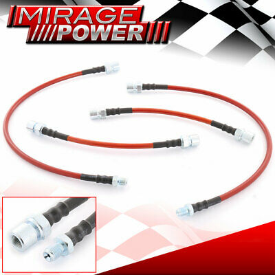 PORSCHE 944 82-89 STAINLESS STEEL BRAKE LINE FOR  FRONT+REAR HIGH QUALITY