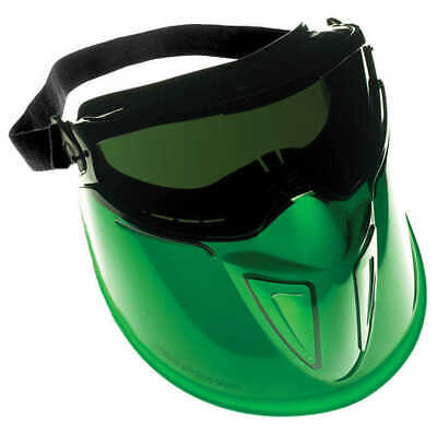 Jackson Safety 18633 V90 Safety Goggles Face Shield Combo Shade 5.0
