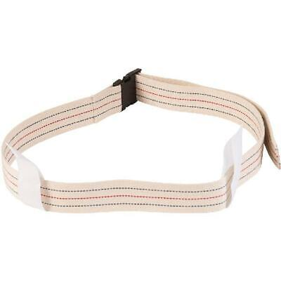DMI Cotton Physical Therapy Gait Belt Transfer Belt with Handles, Quick Release,