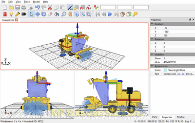 DESIGN LEGO MODELS - CAD 3D Software Designer for Windows 7