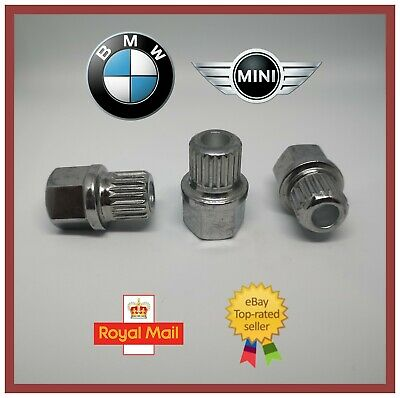 New BMW MINI Locking Wheel Nut Key No ABC 36 / 20 Spline E90 E60 E46 E39
