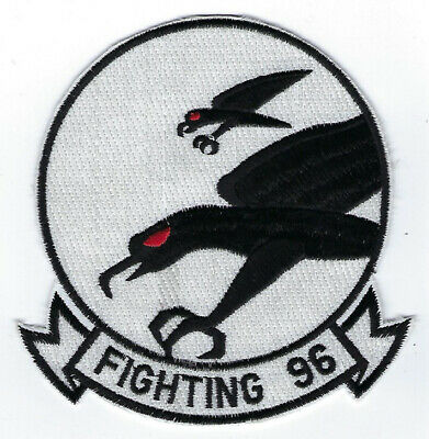 VF-96 Fighting Falcons HAT PATCH US NAVY USS PIN UP F4 F4U PILOT CREW FIGHTER